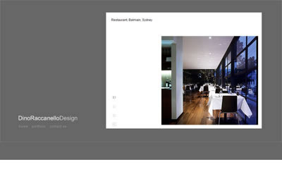 Website for architectural firm